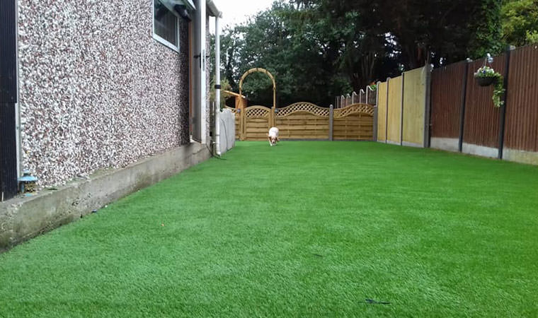 Artificial grass Minster on Sea