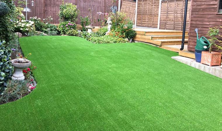 Time saving lawn