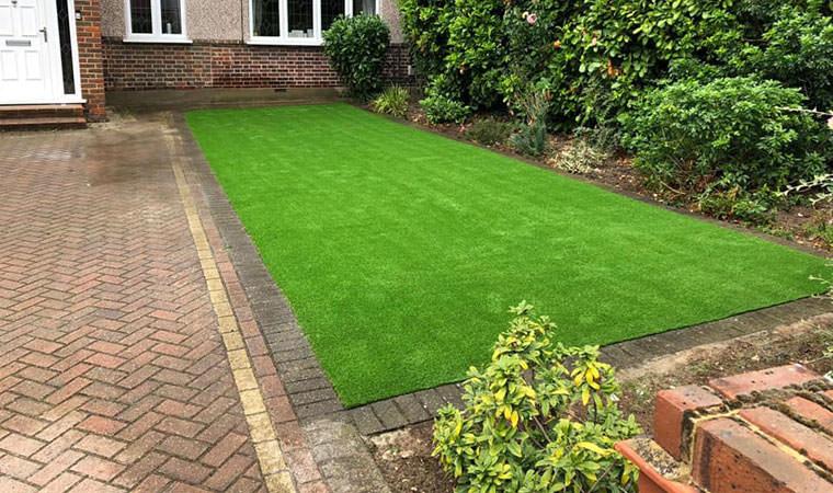 Nice new front garden lawn Bexleyheath