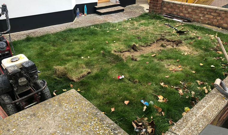 Original lawn Welling London