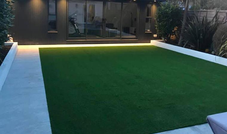 Modern garden makeover