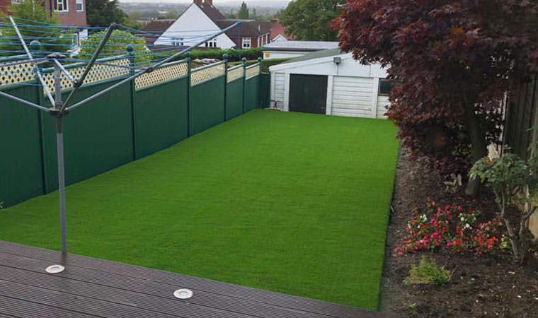 Nice finish to garden Eltham