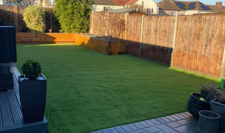 Artificial grass lawn Sidcup