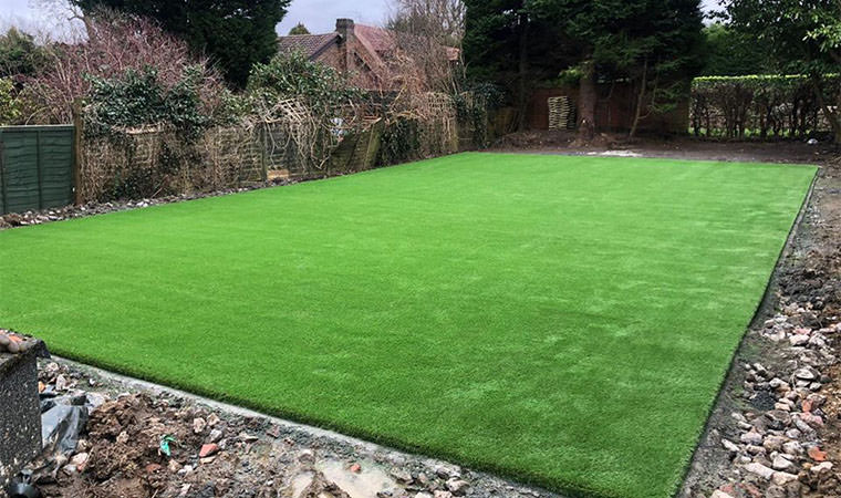 Lawn Caterham completed