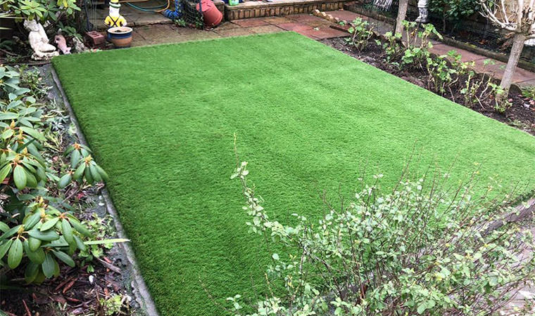 Sittingbourne lawn completed