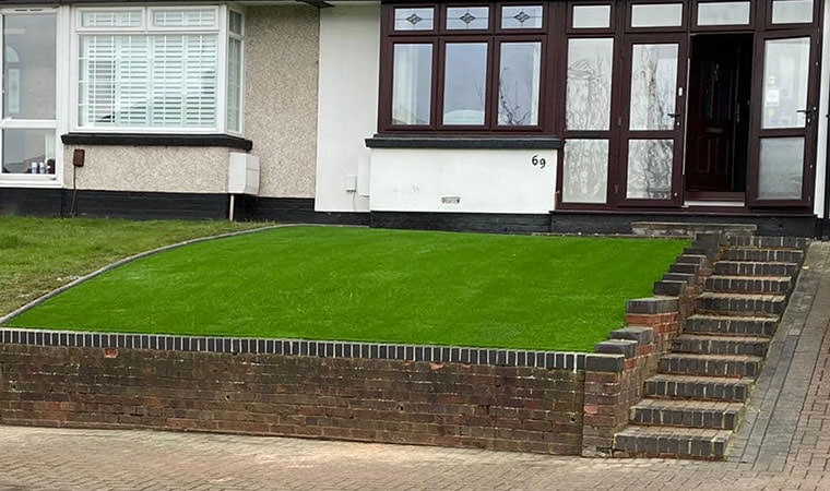 Completed lawn Barnehurst