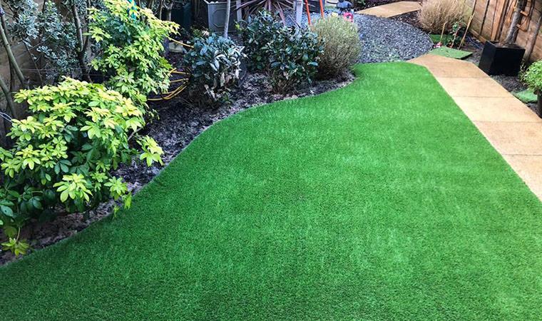 Artificial grass added Chislehurst