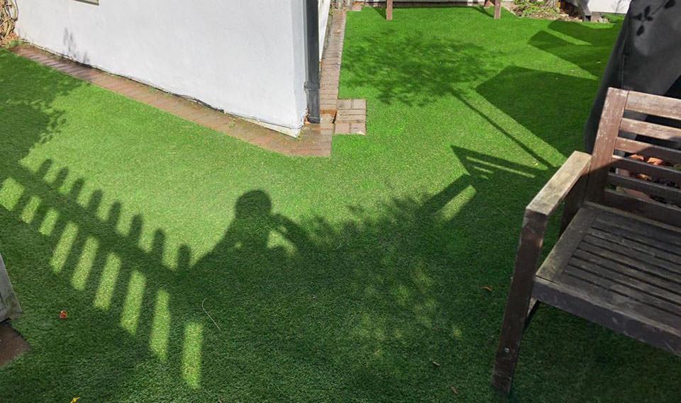 New artificial grass lawn Chislehurst