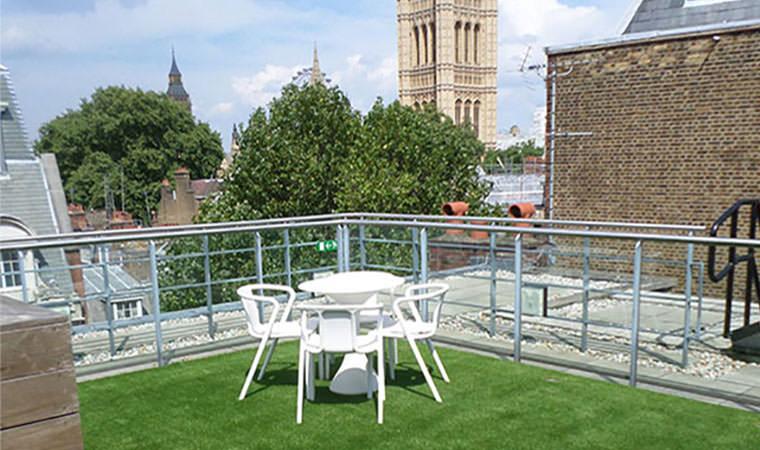 Roof garden Westminster