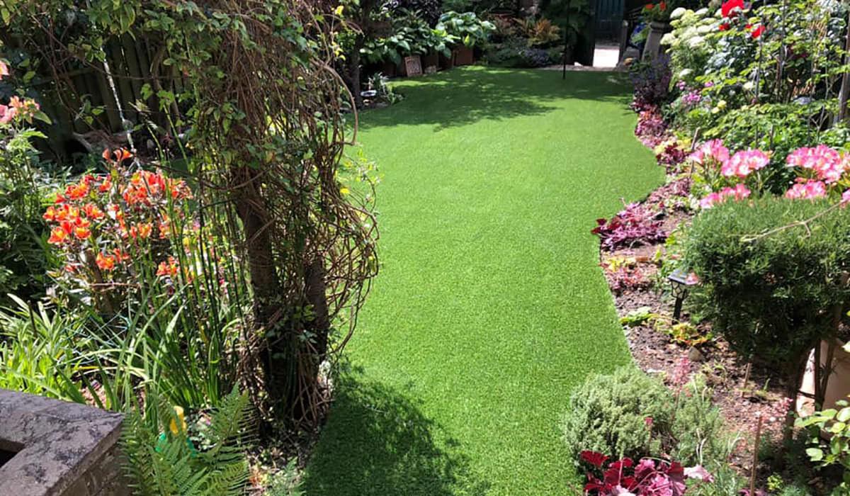 Artificial grass good environment