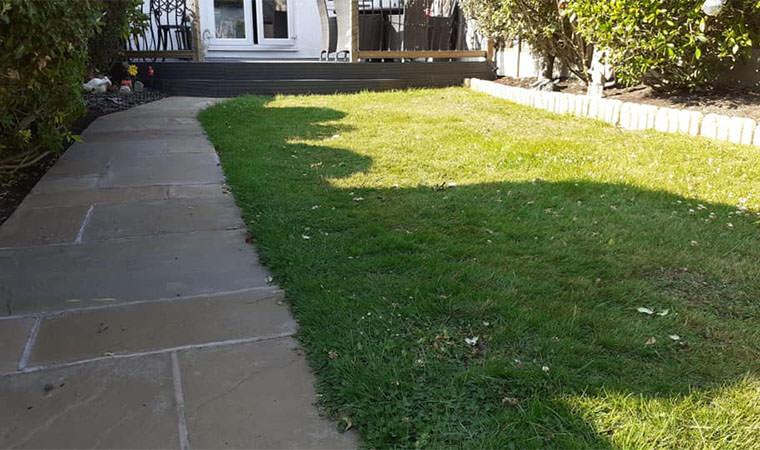 Existing Beckenham lawn