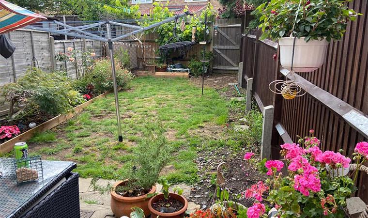 Garden area Orpington