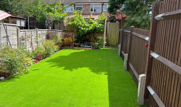 Orpington garden redesign complete