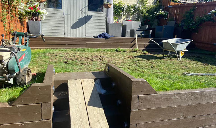 Worn out lawn Crayford