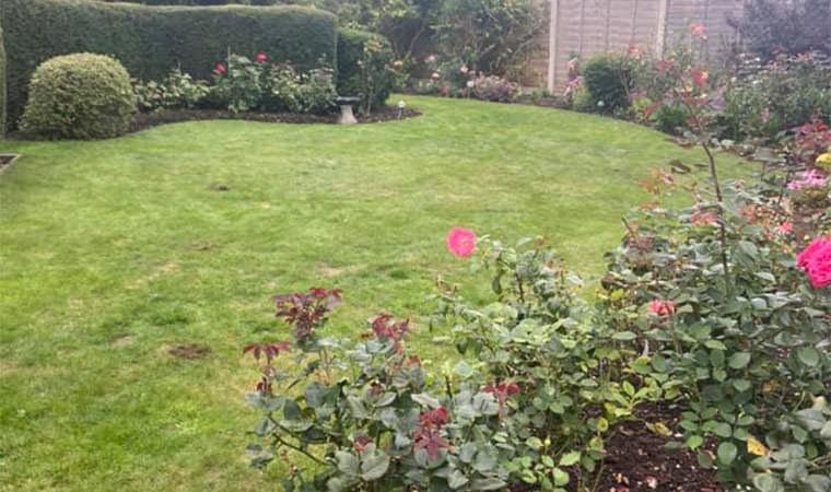 Existing garden Gravesend Kent