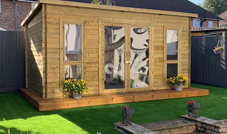 Garden Office Mottingham Artificial Grass
