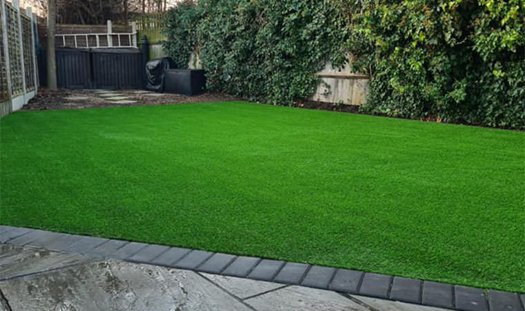 First artificial grass install 2021