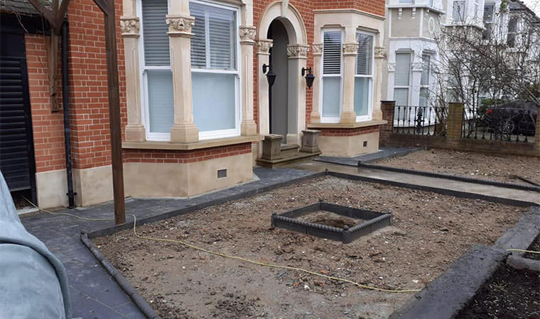 Property in Catford front garden