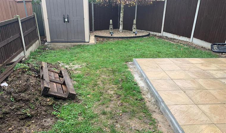 Unblended garden