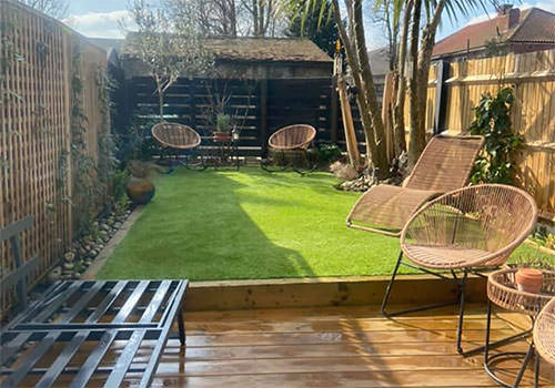 Refreshed lawn