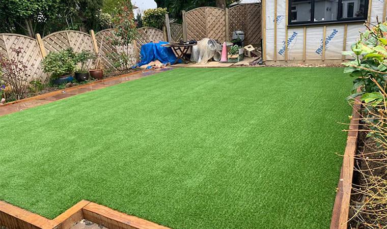 Modern lawn Orpington