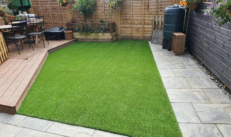 Artificial grass fitted Wouldham