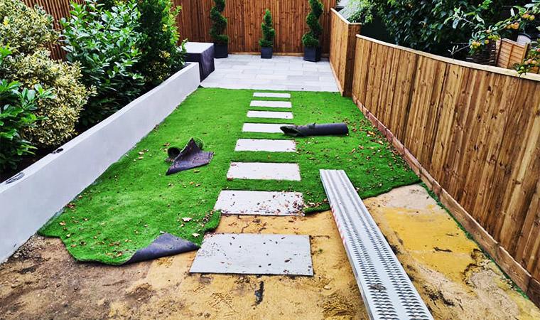 Bodged lawn Crayford