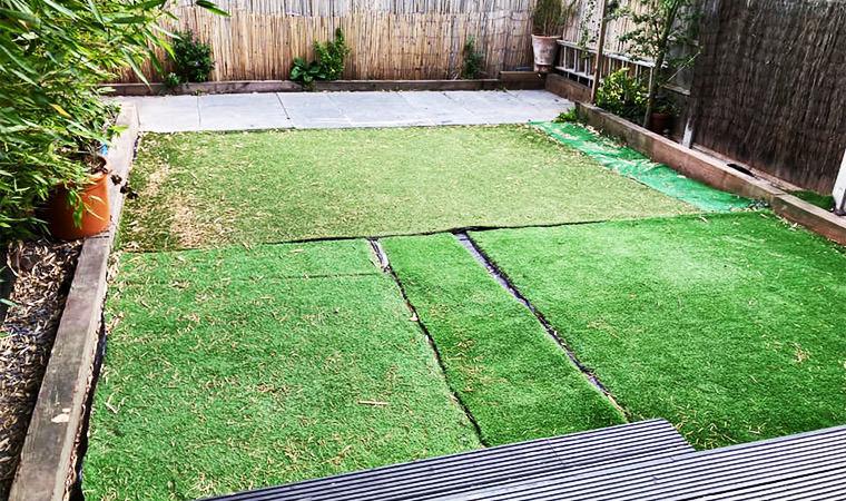 Existing garden Crayford