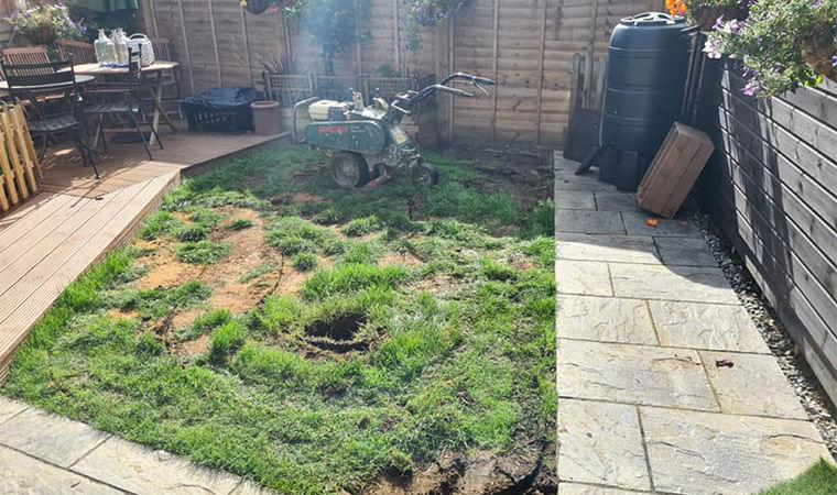 Existing garden Wouldham