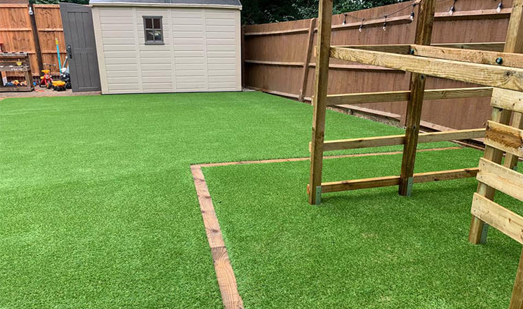 Safe play area surface